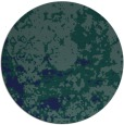 rug #1085914 | round blue traditional rug