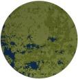 rug #1085918 | round green damask rug
