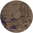 rug #1085982 | round blue-violet rug