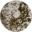 rug #1086030 | round beige damask rug