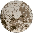 rug #1086032 | round faded rug