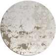 rug #1086034 | round white faded rug