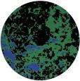 rug #1086074 | round black faded rug