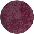rug #1086110 | round purple faded rug