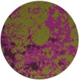 rug #1086114 | round purple faded rug