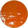 rug #1086154   round red-orange damask rug