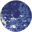 rug #1086170 | round blue faded rug