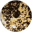 rug #1086174 | round brown damask rug