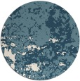rug #1086182 | round white faded rug