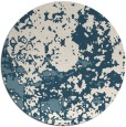 rug #1086183 | round faded rug