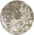 rug #1086186 | round beige damask rug