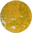 rug #1086190 | round yellow damask rug