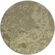 rug #1086214 | round light-green damask rug