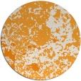 rug #1086234 | round light-orange faded rug