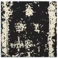 rug #1086634 | square black graphic rug