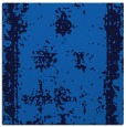 rug #1086642 | square blue graphic rug