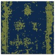 rug #1086654 | square blue faded rug