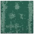 rug #1086666 | square blue-green borders rug