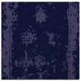 rug #1086698 | square blue-violet damask rug