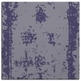 rug #1086702 | square blue-violet damask rug
