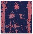 rug #1086706   square blue-violet borders rug