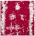 rug #1086730 | square red traditional rug