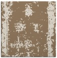 rug #1086766 | square mid-brown borders rug