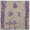 rug #1086794 | square purple damask rug