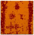 rug #1086814 | square orange graphic rug