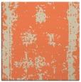 rug #1086822 | square orange graphic rug