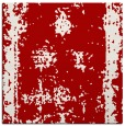 rug #1086862 | square red traditional rug