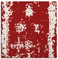 rug #1086870 | square red traditional rug