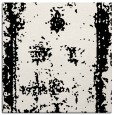 rug #1086898 | square black damask rug