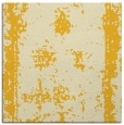 rug #1086926 | square yellow faded rug