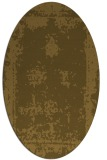 rug #1087000 | oval traditional rug