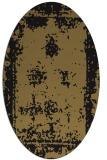 rug #1087007 | oval traditional rug