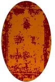 rug #1087182 | oval borders rug