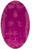 rug #1087198 | oval pink borders rug