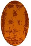 rug #1087237 | oval damask rug