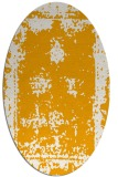 rug #1087330 | oval light-orange popular rug