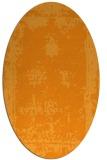 rug #1087338 | oval light-orange traditional rug