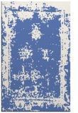 rug #1087394 |  blue damask rug