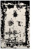 rug #1087410 |  blue-green damask rug
