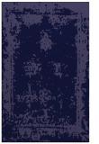 rug #1087434    blue-violet damask rug
