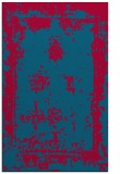 rug #1087470 |  blue-green graphic rug