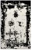 rug #1087490 |  black damask rug