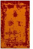rug #1087550 |  orange faded rug