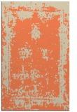 rug #1087558 |  orange faded rug