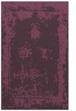 rug #1087582 |  purple damask rug