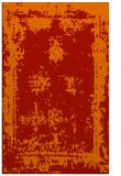 rug #1087602 |  orange graphic rug